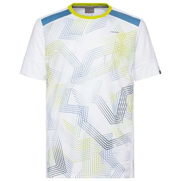 Produkt HEAD Racquet T-Shirt Men White/Sky Blue