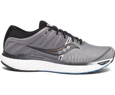 Saucony Hurricane 22 Grey/Black