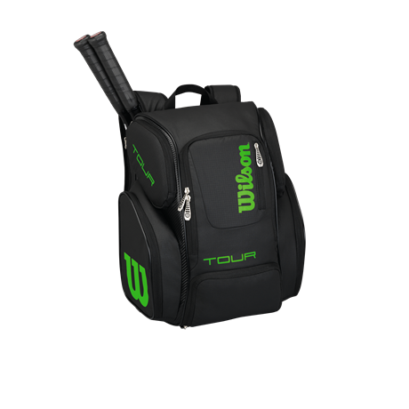 Wilson Tour V Backpack Large Black/Green