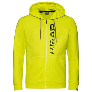 Produkt HEAD Club Fynn Hoodie Full Zip Men Yellow/Dark Blue