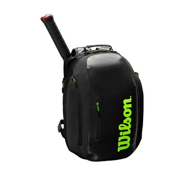 Produkt Wilson Super Tour Backpack Black/Green 2019