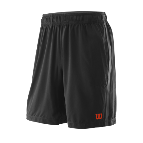 Wilson M UWII Woven 8 Short Black/Red