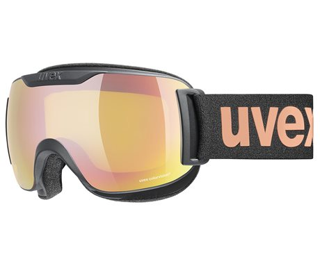 UVEX DOWNHILL 2000 S CV black mat/mir rose colorvision yellow S5504472430 20/21