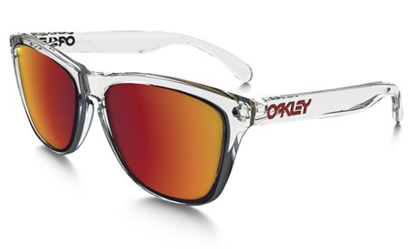OAKLEY Frogskins Crystal Clear w/ Torch Irid