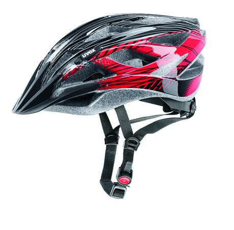 UVEX XENOVA, BLACK-RED