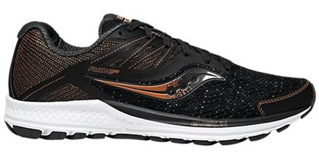 Saucony Ride 10 Black/Denim/Copper