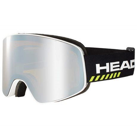 HEAD HORIZON RACE black + SPARE LENS 19/20
