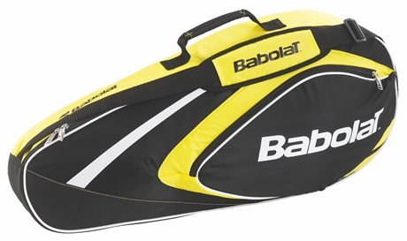 Babolat Club Line Racket Holder X3 Yellow 2015