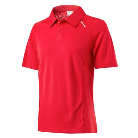 Head Performance Polo Men Red