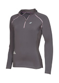 Babolat 1/2 Zip Women Core Grey 2016