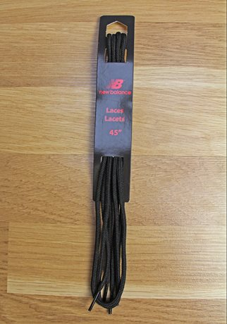 New Balance Athletic Round Laces Black