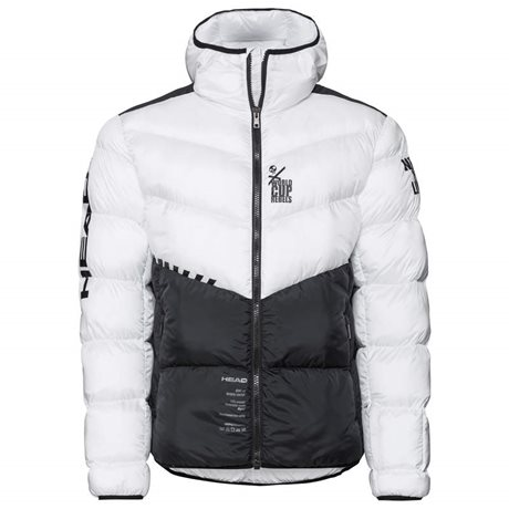 Head Rebels Star Jacket Men White/Black