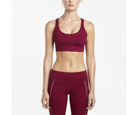 Saucony Impulse Bra Top Beet Red