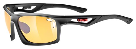 UVEX SGL 700, BLACK MAT/ORANGE
