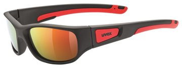 Produkt UVEX SPORTSTYLE 506 BLACK MAT RED/MIR RED