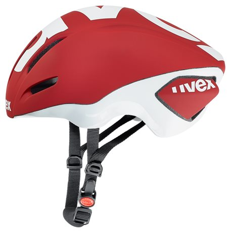 UVEX EDAero, RED MAT-WHITE 2016