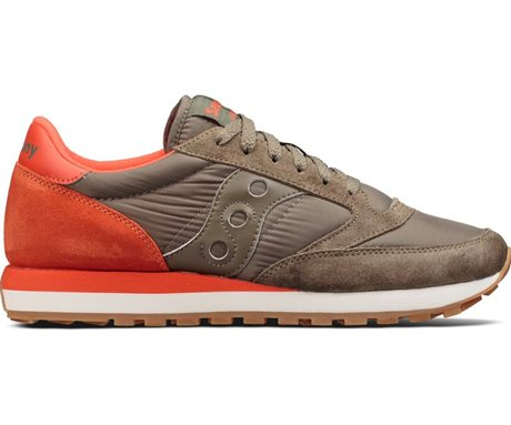 Saucony Jazz Original Olive/Cherry
