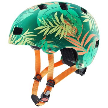 Produkt UVEX HELMA KID 3 CC, GREEN ORANGE 2019