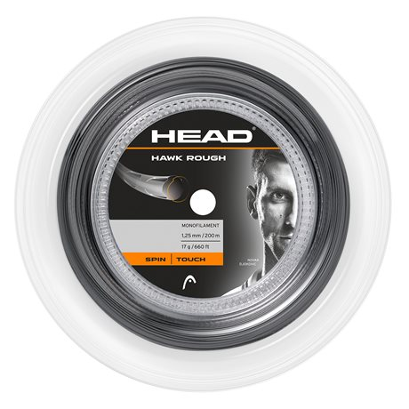 HEAD Hawk Rough 200m 1,25 Black