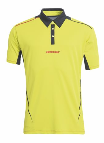 Babolat Polo Men Match Performance Yellow 2015