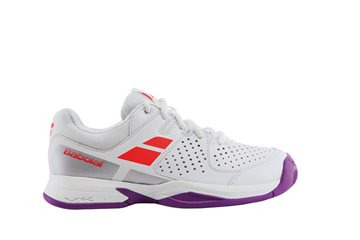 Produkt Babolat Pulsion All Court Junior White/Fluo Red