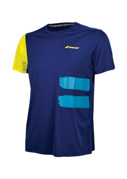 Produkt Babolat Performance Men TEE Crew Neck Blue 2018