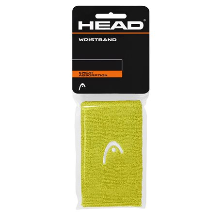 "HEAD Wristband 5"" 2016 lime"