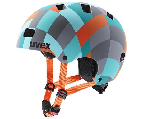 UVEX KID 3 CC, GREEN CHECKERED 2021