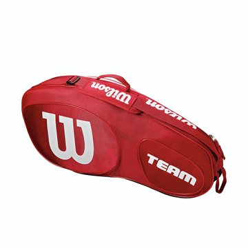 Produkt Wilson Team III 3 Pack Red