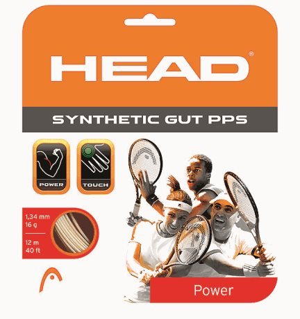 HEAD Synthetic Gut PPS 12m 1,30 Black