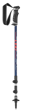 Produkt Leki Journey Lite Antishock red/white 100-135 cm 6492183 2019