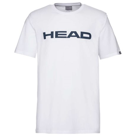 HEAD Ivan T-Shirt Junior White/Dark Blue