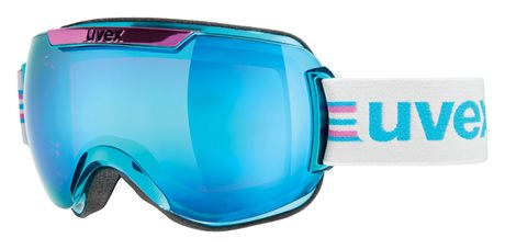 UVEX DOWNHILL 2000 RACE CHROME, cyan pink/ltm blue S5501120429
