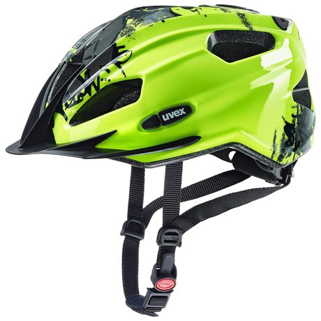 UVEX QUATRO JUNIOR, NEON YELLOW 2019