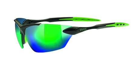 UVEX SGL 203, BLACK/MAT GREEN