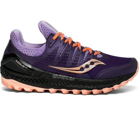 Saucony Xodus ISO 3 Purple/Peach