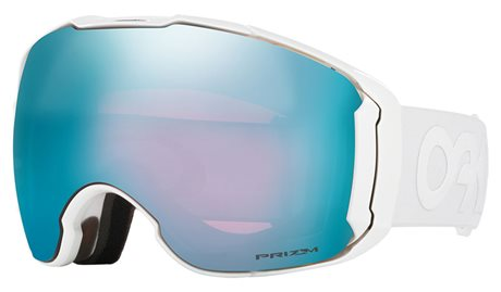 OAKLEY Airbrake XL Polished White w/PRIZM Snow Sapphire Iridium + PRIZM Snow HI Pink 16/17