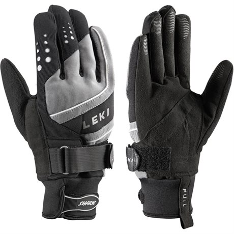 Leki Thermoshield black-grey-white 63380803