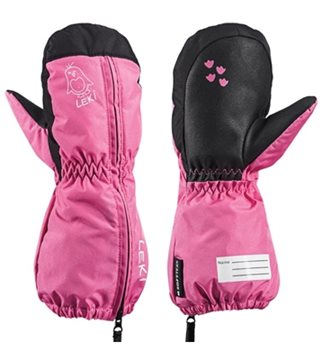 Produkt Leki Little Sleeve Mitt pink-black 643889404 18/19