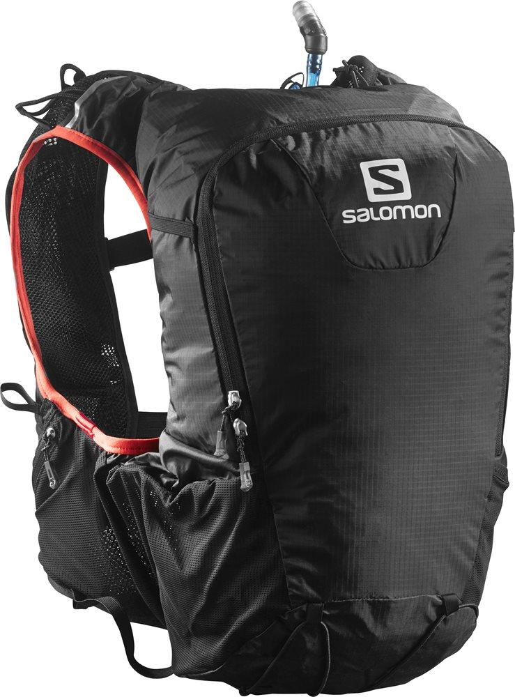 fdbdfa5d71 Salomon Skin Pro 15 Set Black Bright Red 379962