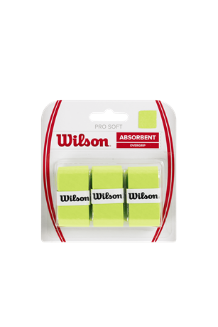 Wilson Pro Soft Overgrip X3 Lime