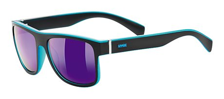 UVEX LGL 21, BLACK MAT BLUE/MIRROR BLUE