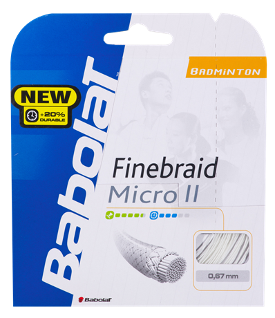 Babolat Finebraid Micro II 10,20m 0,67 Orange