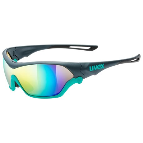 UVEX SPORTSTYLE 705, GREY MAT TURQUOISE (5716)