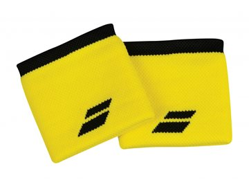 Produkt Babolat Wristband X2 Yellow-Black