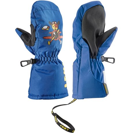 Leki Little Pilot mitten blue 0 63380271