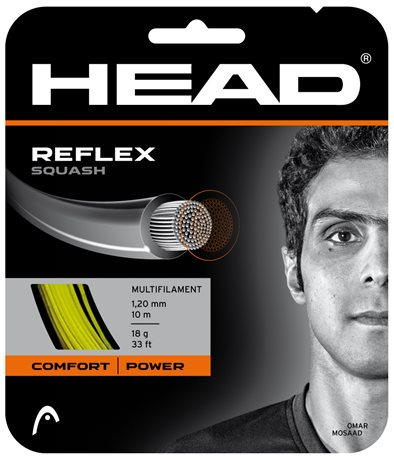 HEAD Reflex Squash 10m 1,20 Yellow