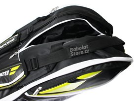 Babolat-Team-Line-Racket-Holder-Yellow-X12-2016_05