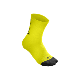 WRA530709_SS18_ACC_Y_Core_Crew_Sock_SafetyYellow_Black